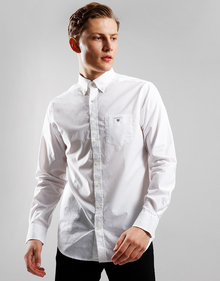 GANT Broadcloth Shirt  White