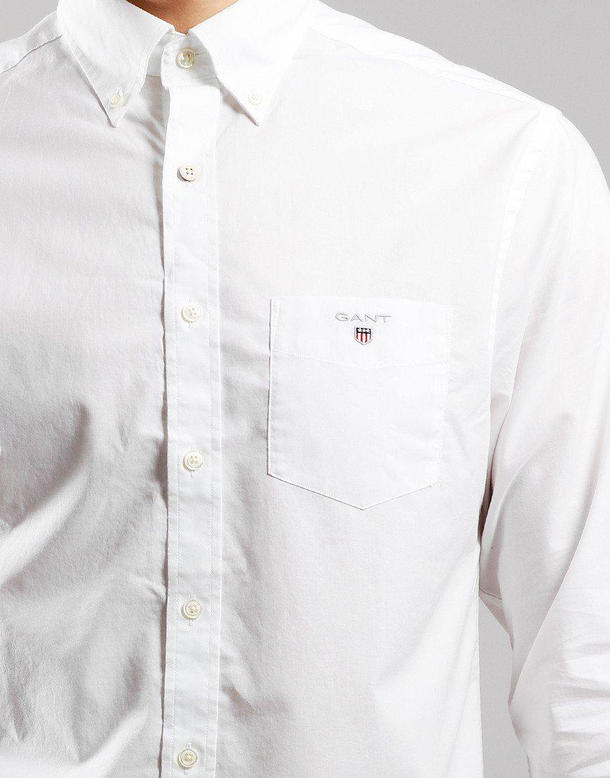 GANT Broadcloth Shirt  White