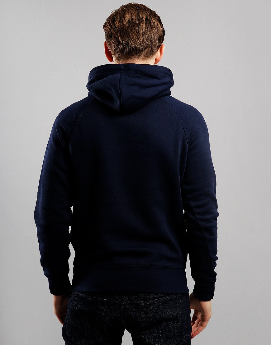 GANT Shield Hoodie  Evening Blue