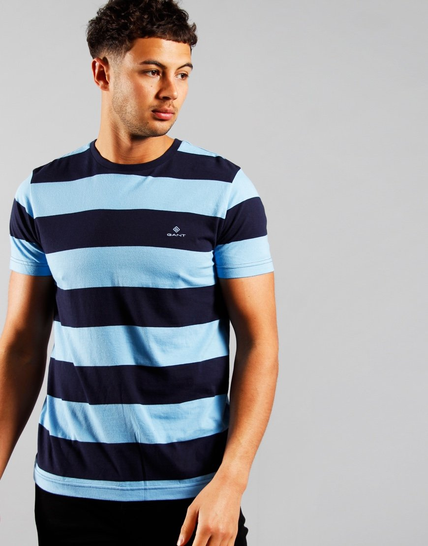 GANT Barstripe T-Shirt Toy Blue