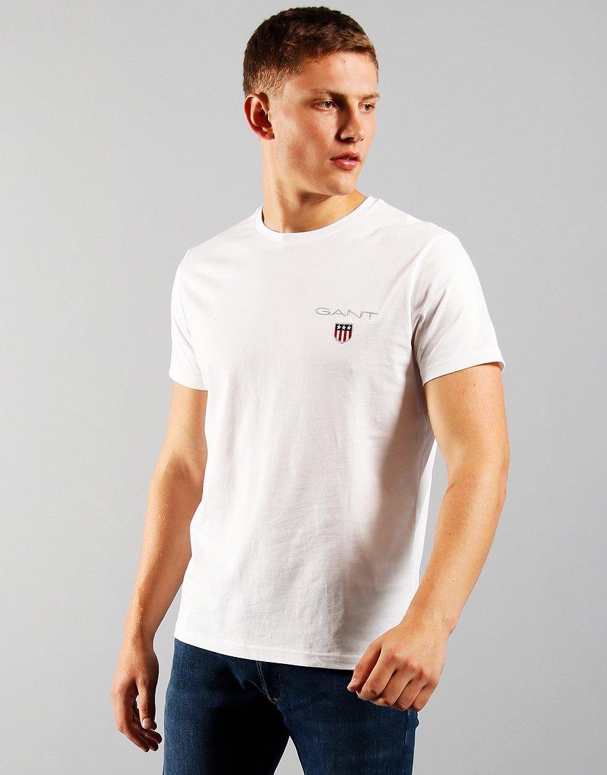 GANT Medium Shield T-Shirt White