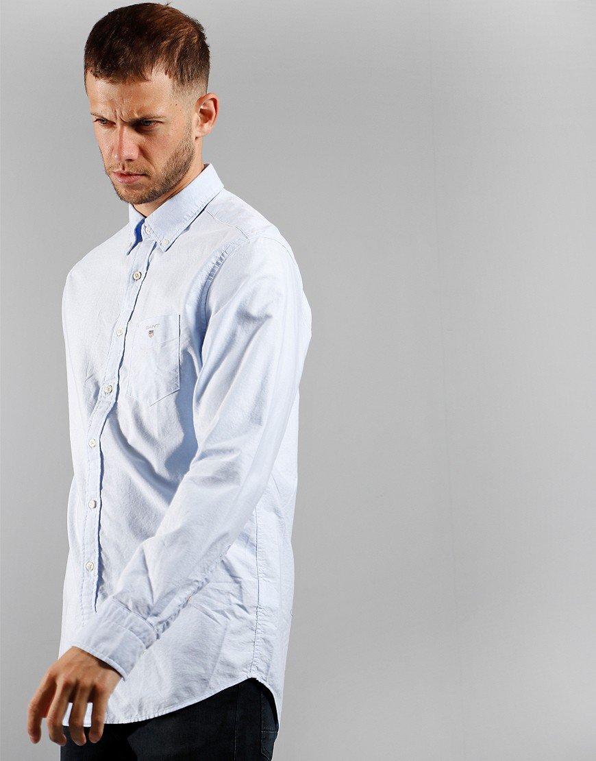 GANT Oxford Regular Shirt Capri Blue