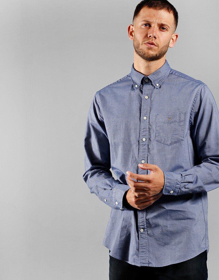 GANT Oxford Regular Shirt Persian Blue