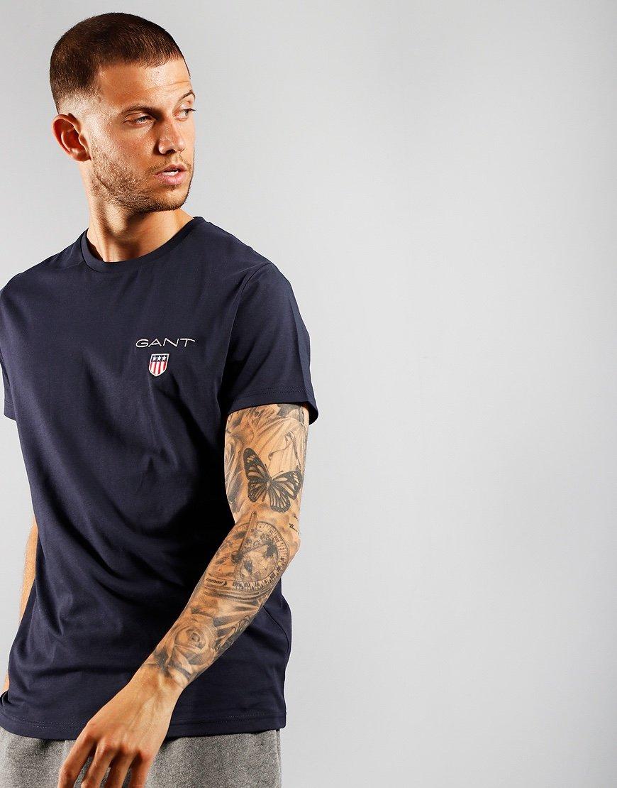 GANT Medium Shield T-Shirt Evening Blue