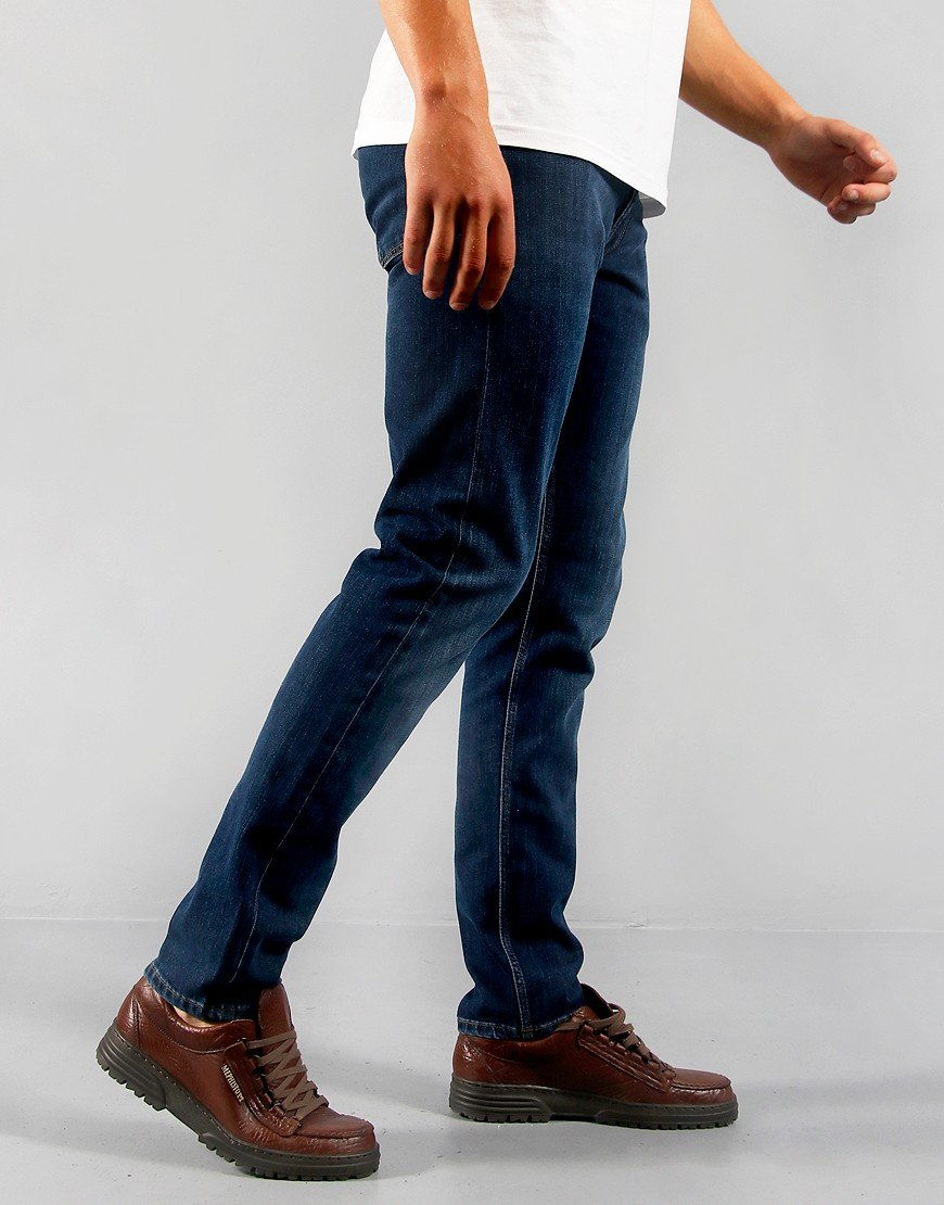 GANT Tapered Fit Jeans Dark Blue Worn In