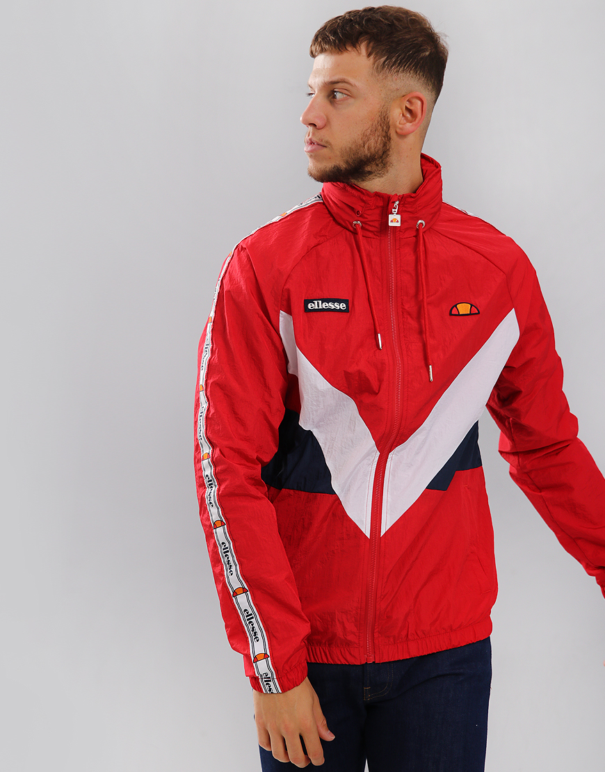 Ellesse Gerano Track Top True Red