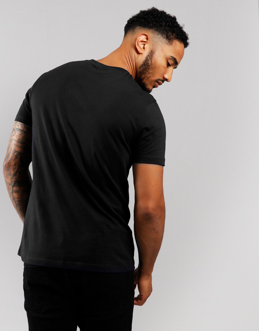 Armani Reflect Logo T-shirt Black