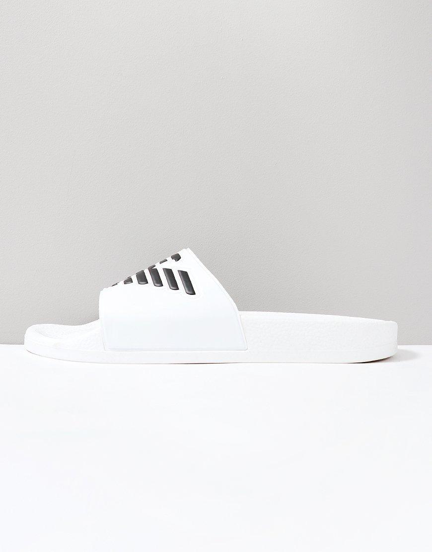 Emporio Armani Beach Slipper Optical White