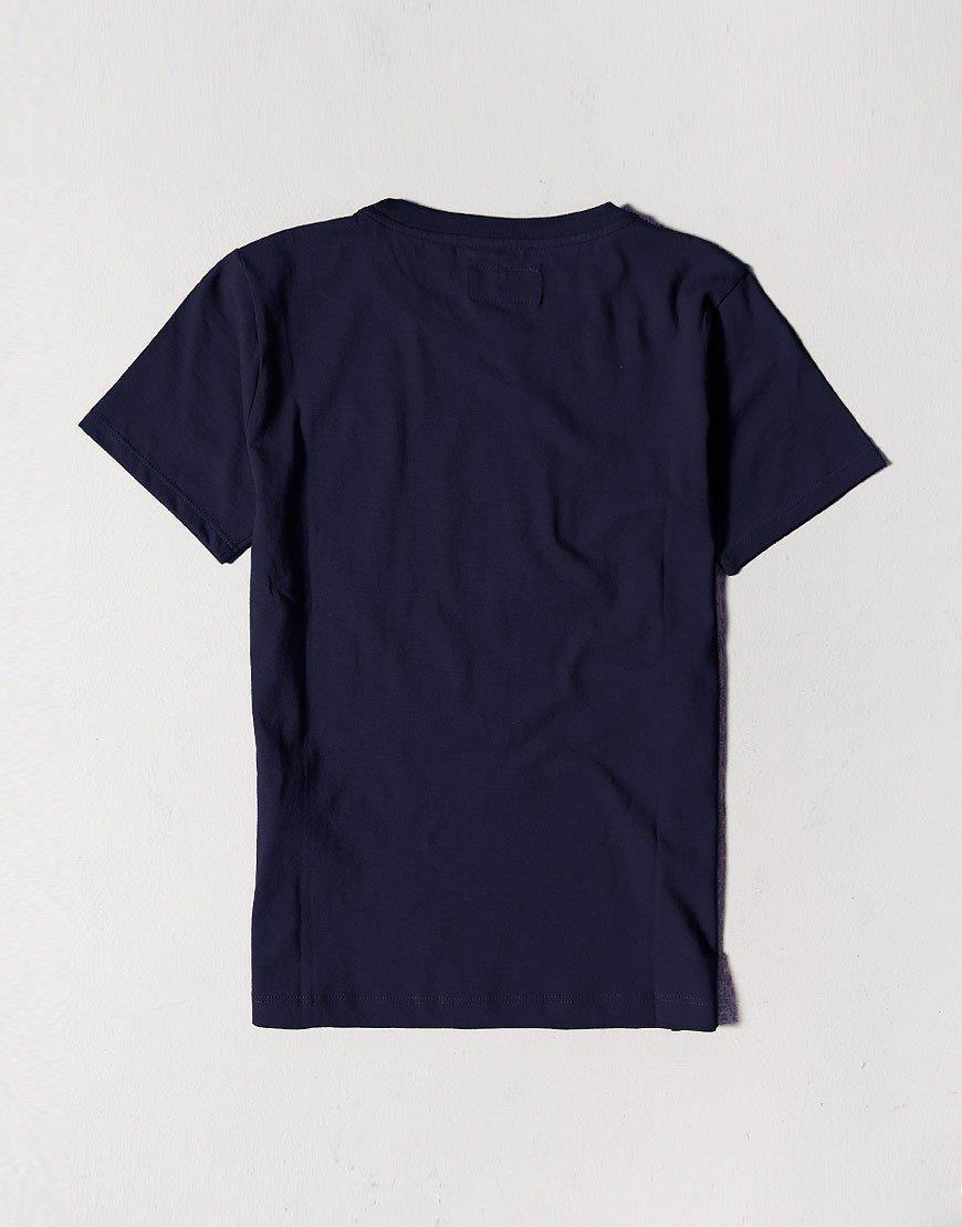 Armani Kids Patch T-Shirt Navy