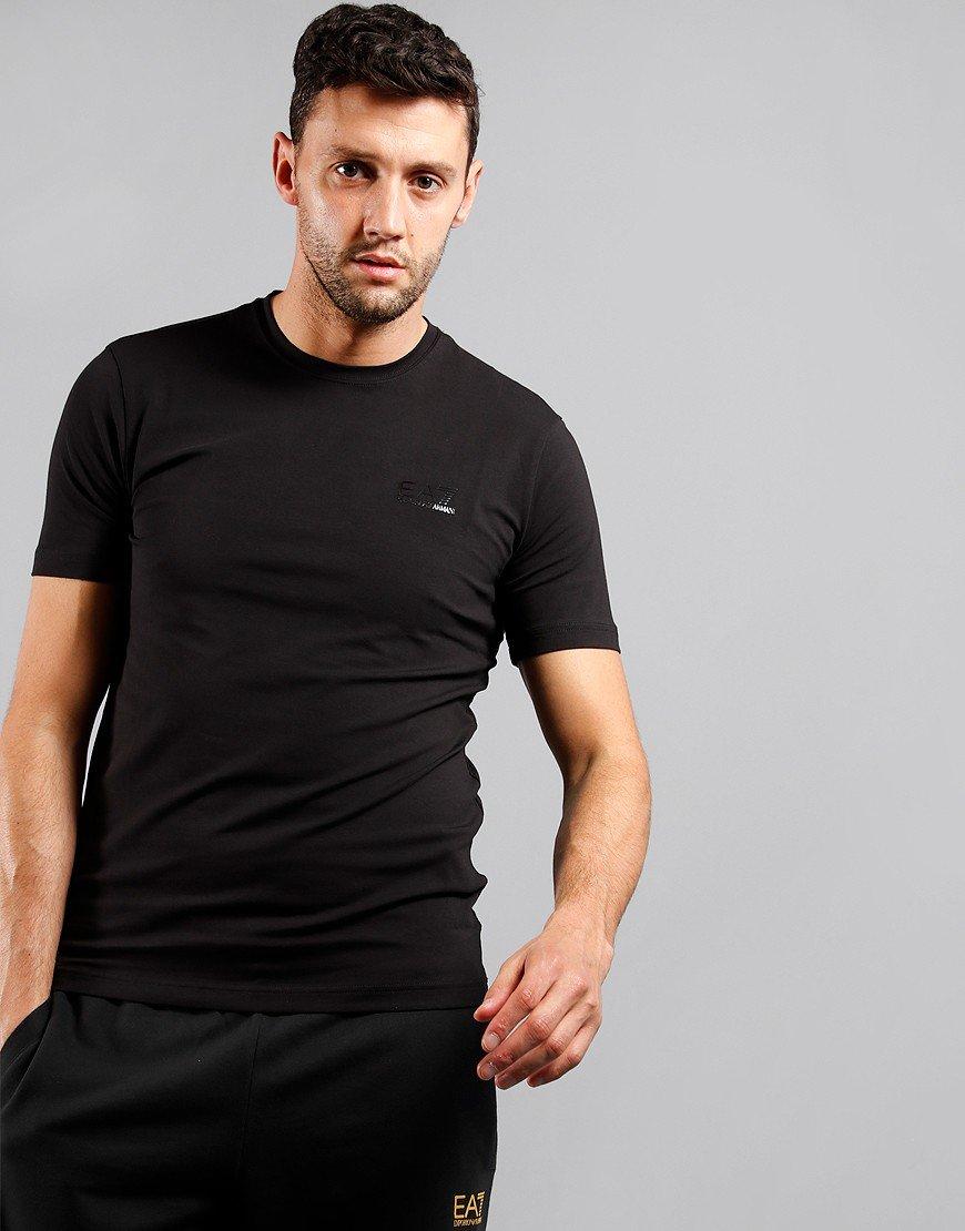 EA7 Back Tape T-Shirt Black