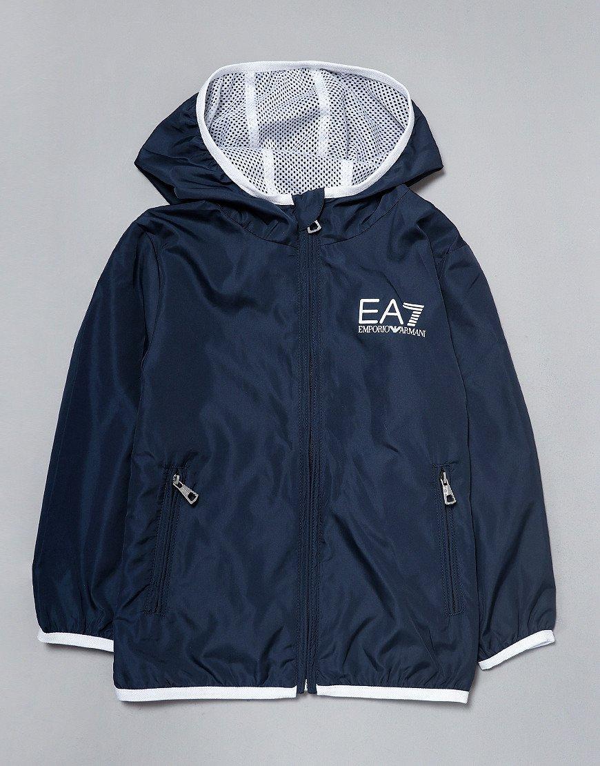 EA7 Kids Bomber Jacket Navy