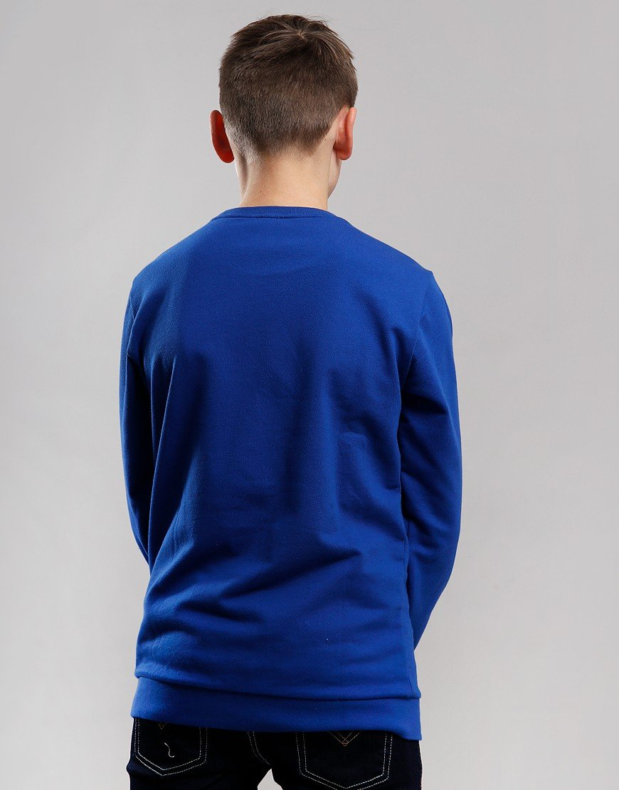 EA7 Emporio Armani Junior Block Logo Sweat Mazarine Blue