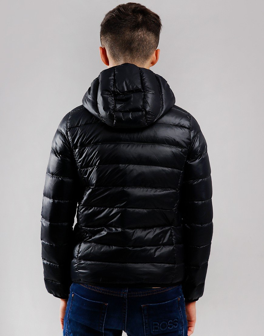 EA7 Kids Down Padded Jacket Black