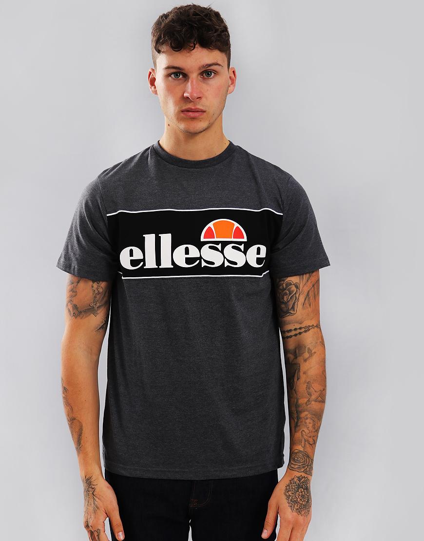Ellesse Goretti T-Shirt Charcoal