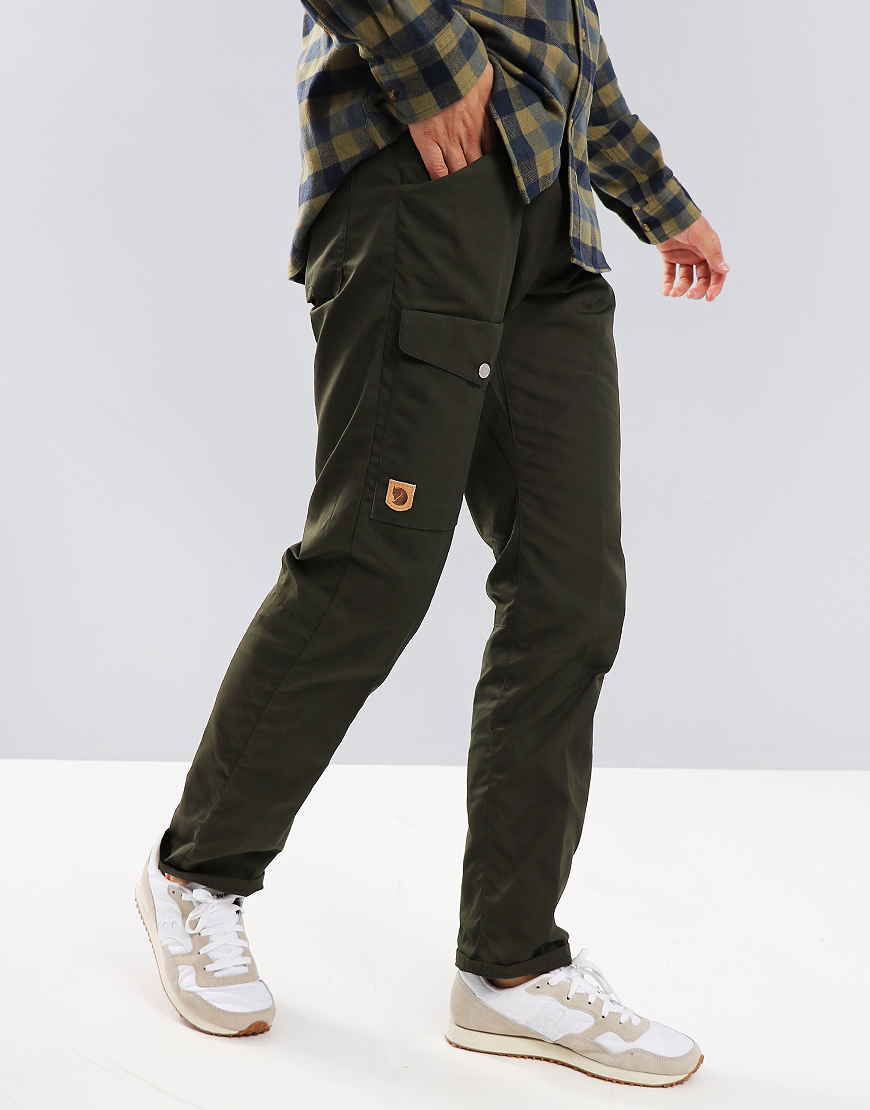 Fjällräven Greenland Trousers Deep Forest