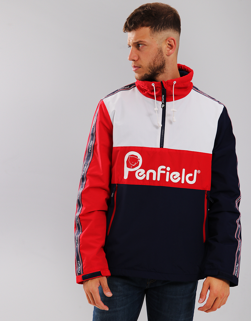 Penfield Havelock Overhead Jacket Mars Red