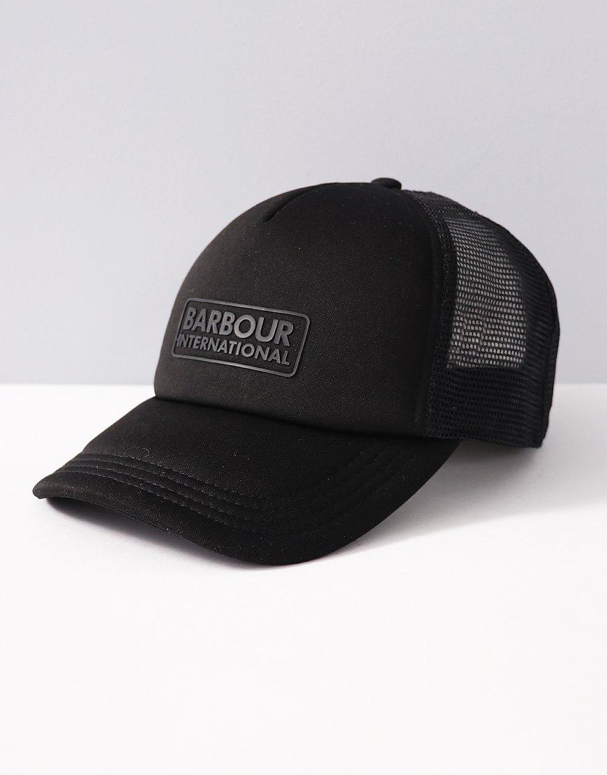 Barbour International Heli Trucker Cap Black