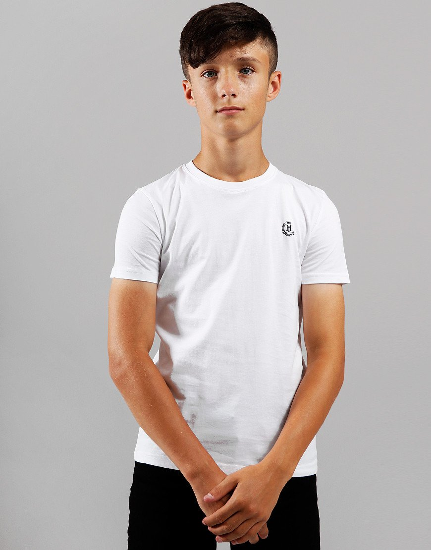 Henri Lloyd Junior Radar T-Shirt Bright White