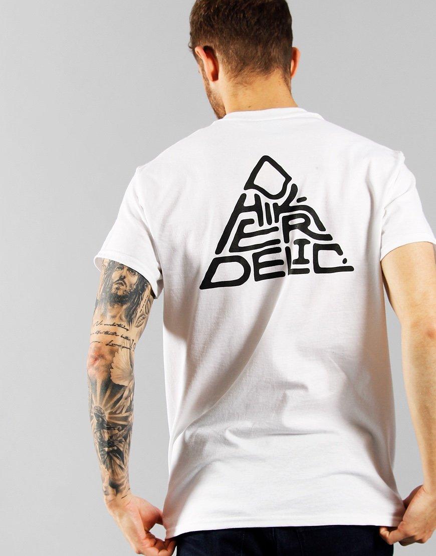 Hikerdelic 60° Mountain Logo T-Shirt White