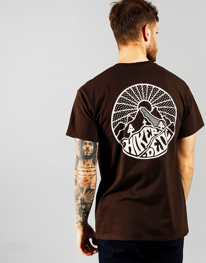 Hikerdelic Core T-Shirt  Brown