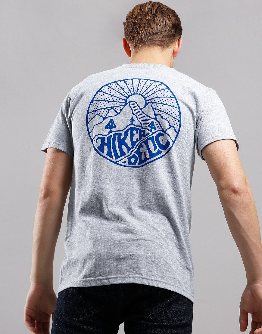 Hikerdelic Core T-Shirt  Grey Marl