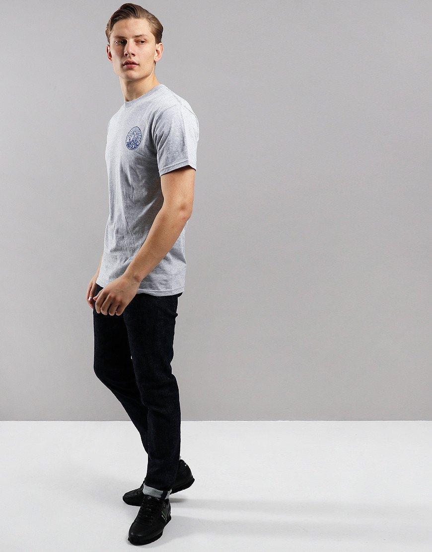 Hikerdelic Core T-Shirt  Grey Marl