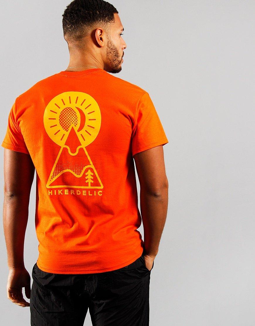 Hikerdelic Keyhole T-Shirt  Orange