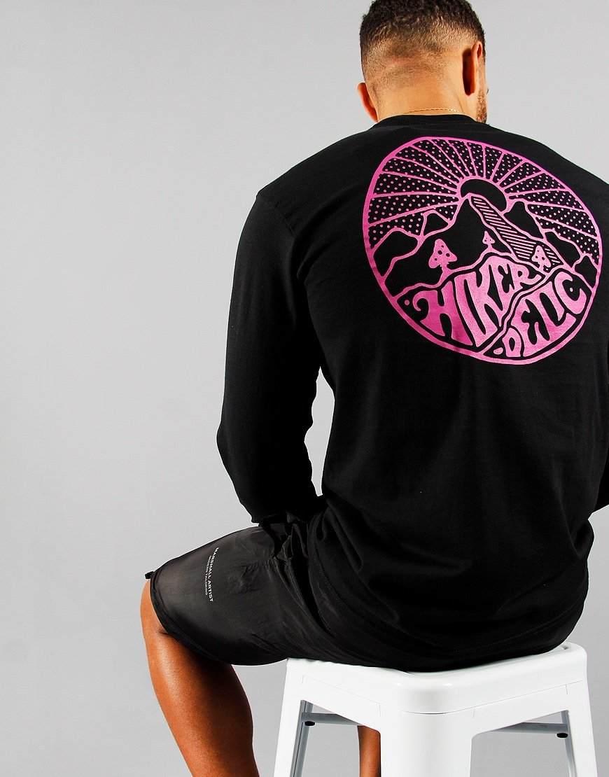 Hikerdelic Long Sleeve Core T-Shirt Black
