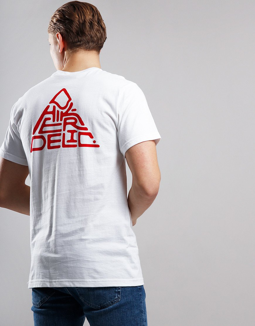 Hikerdelic Mountain T-Shirt White