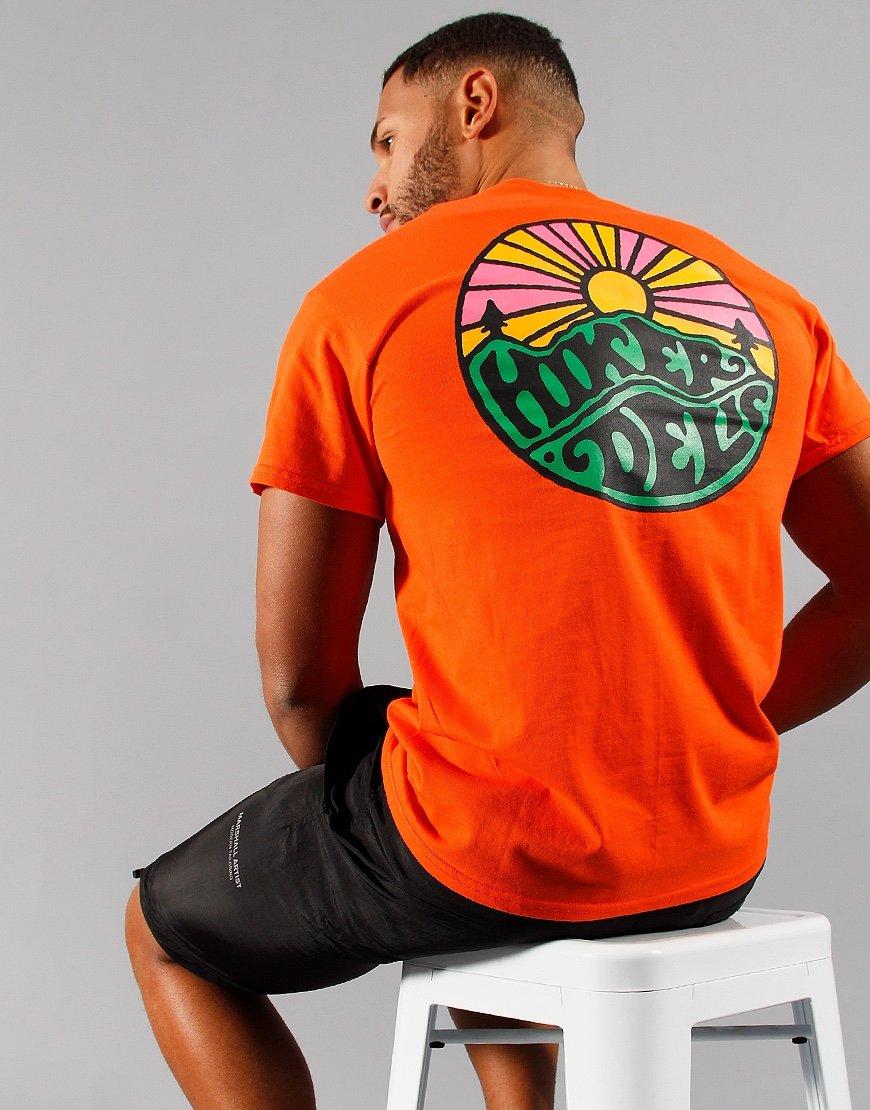 Hikerdelic OG Logo T-Shirt Orange