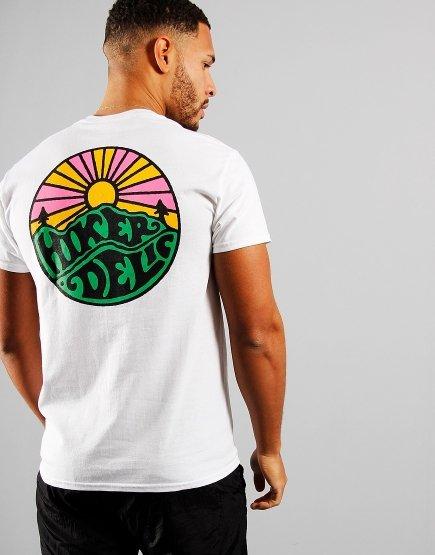 Hikerdelic OG Logo T-Shirt White