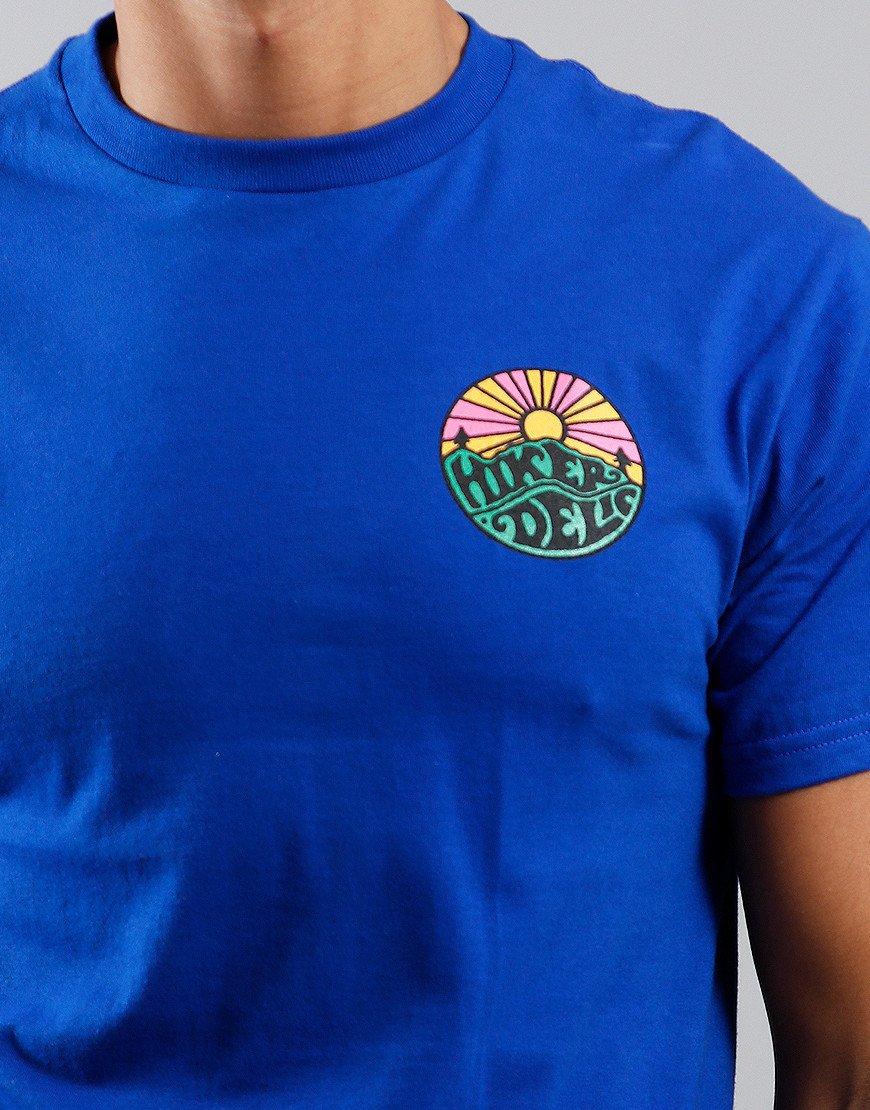 Hikerdelic OG Logo T-Shirt Royal