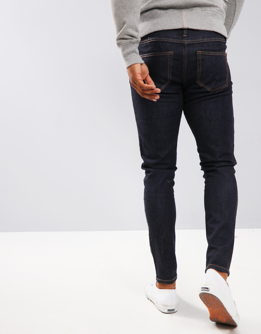 Farah Howells Skinny Fit Jeans Rinse Denim