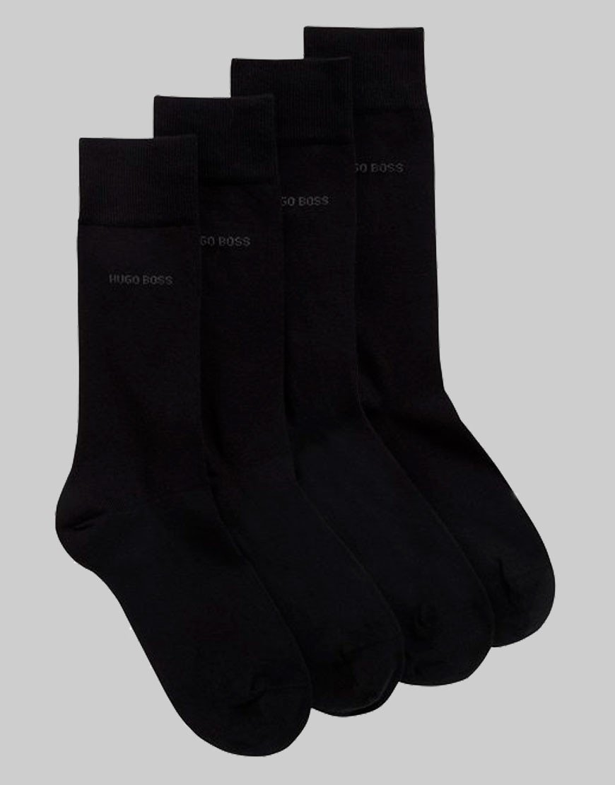 BOSS 2 Pack Socks Black
