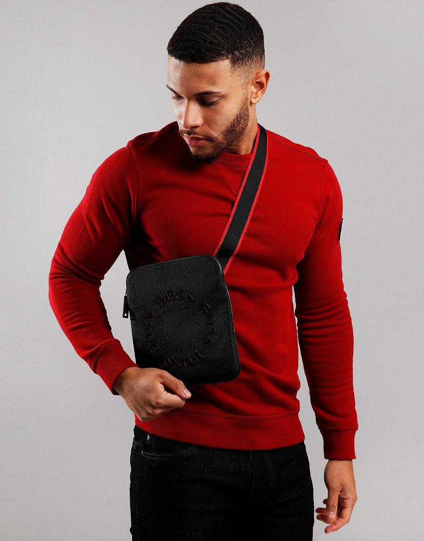 BOSS Pixel Rl Env Side Bag Black