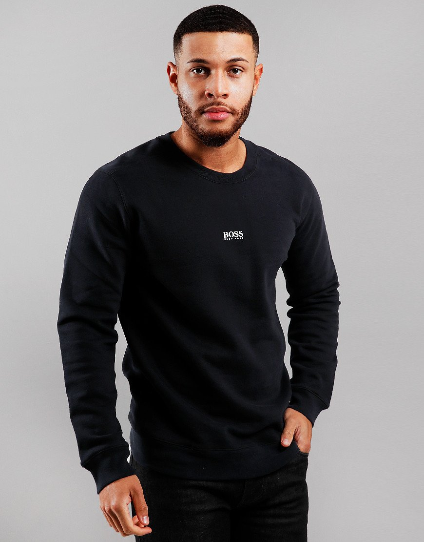 BOSS Weevo Crew Neck Sweat Black