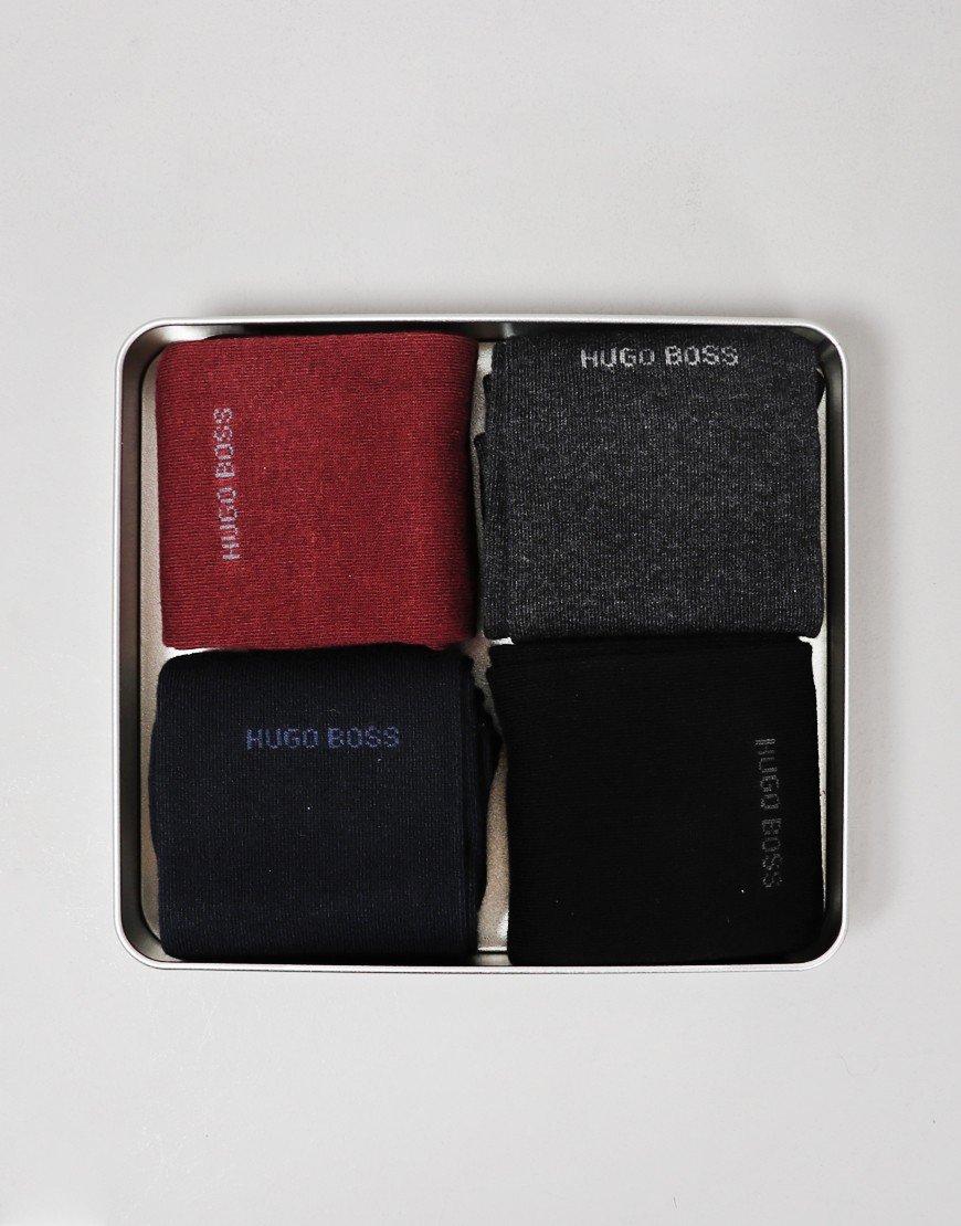 BOSS 4 Pack Socks Gift Set Open Misc