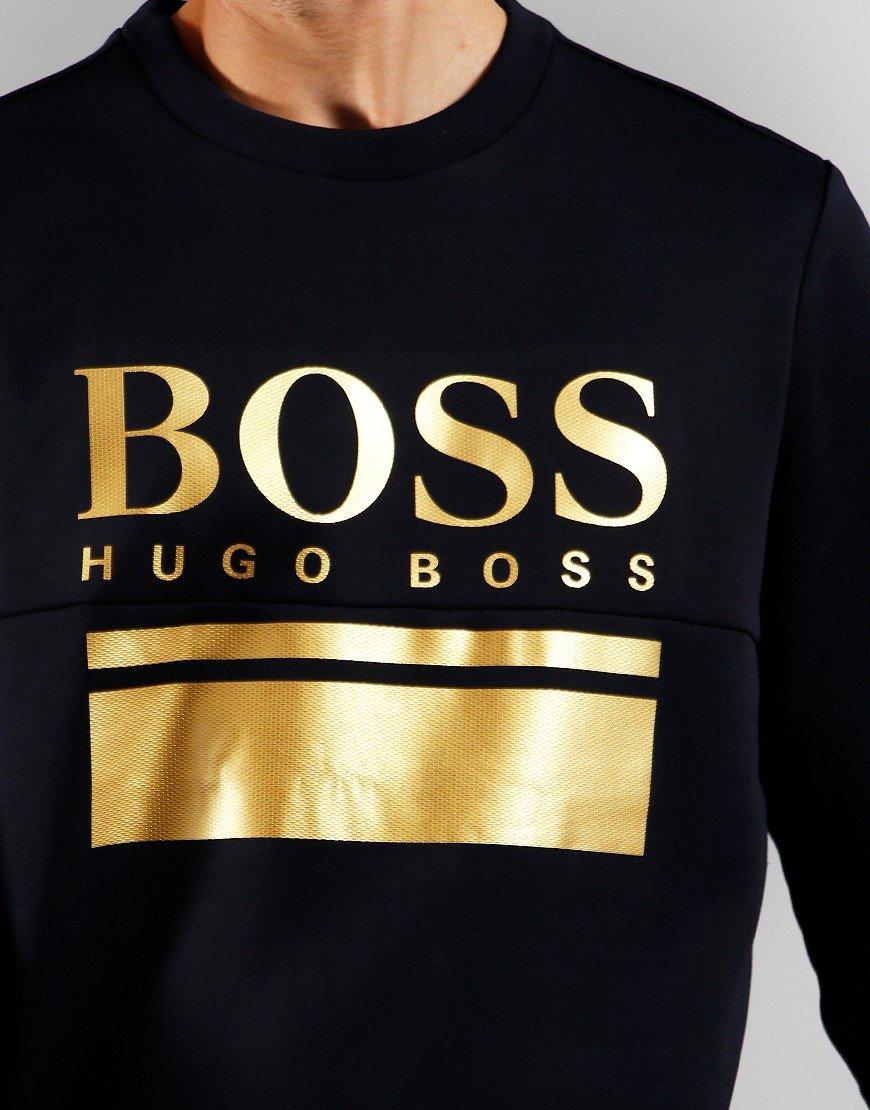 BOSS Salbo 1 Sweatshirt Dark Blue