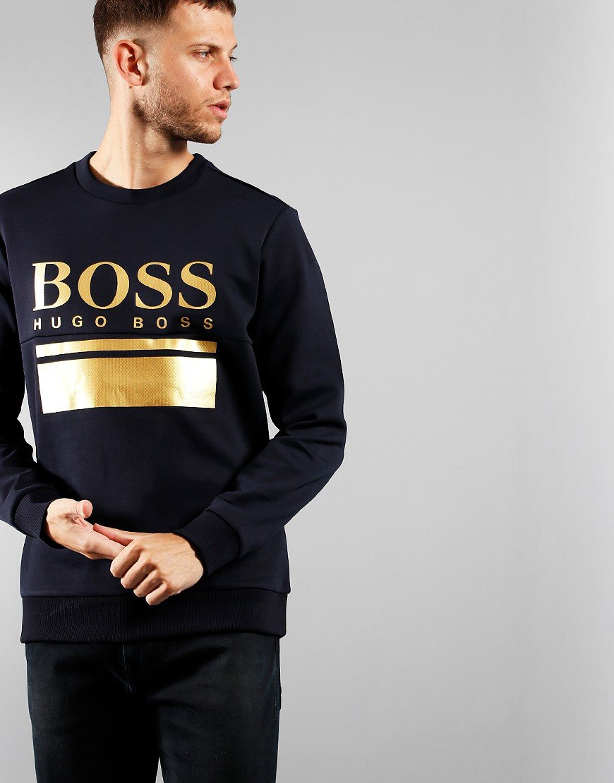 BOSS Salbo 1 Sweatshirt Dark Blue