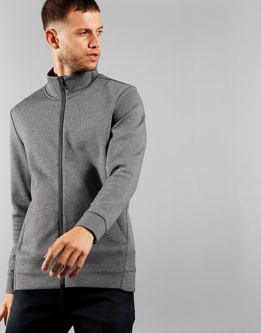 BOSS Athleisure Shaz X Zip Sweat Medium Grey