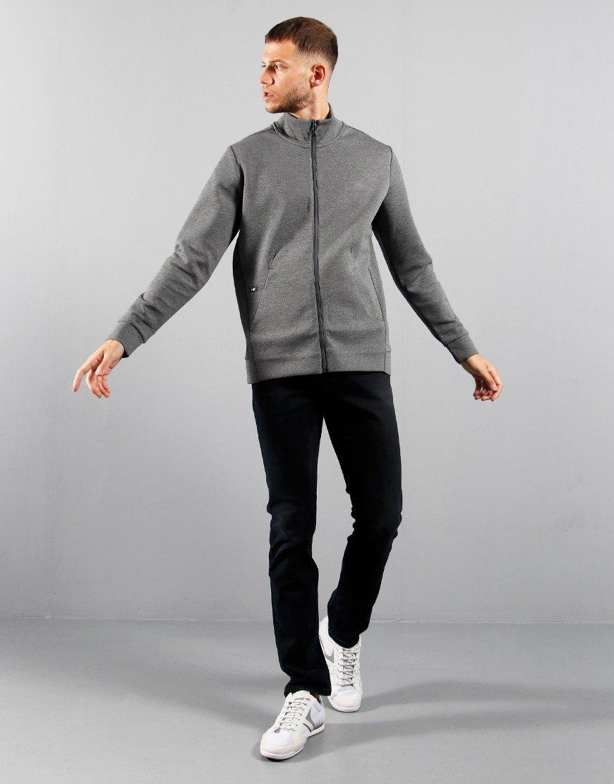 BOSS Athleisure Shaz X Zip Sweat Medium Grey