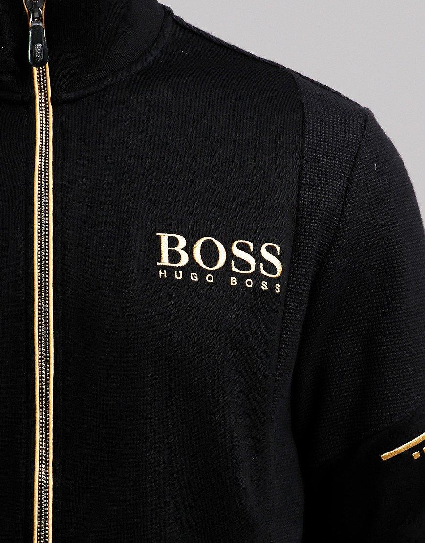 BOSS Skaz Zip Sweat Black
