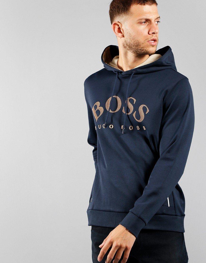 BOSS Soody Hoodie Navy