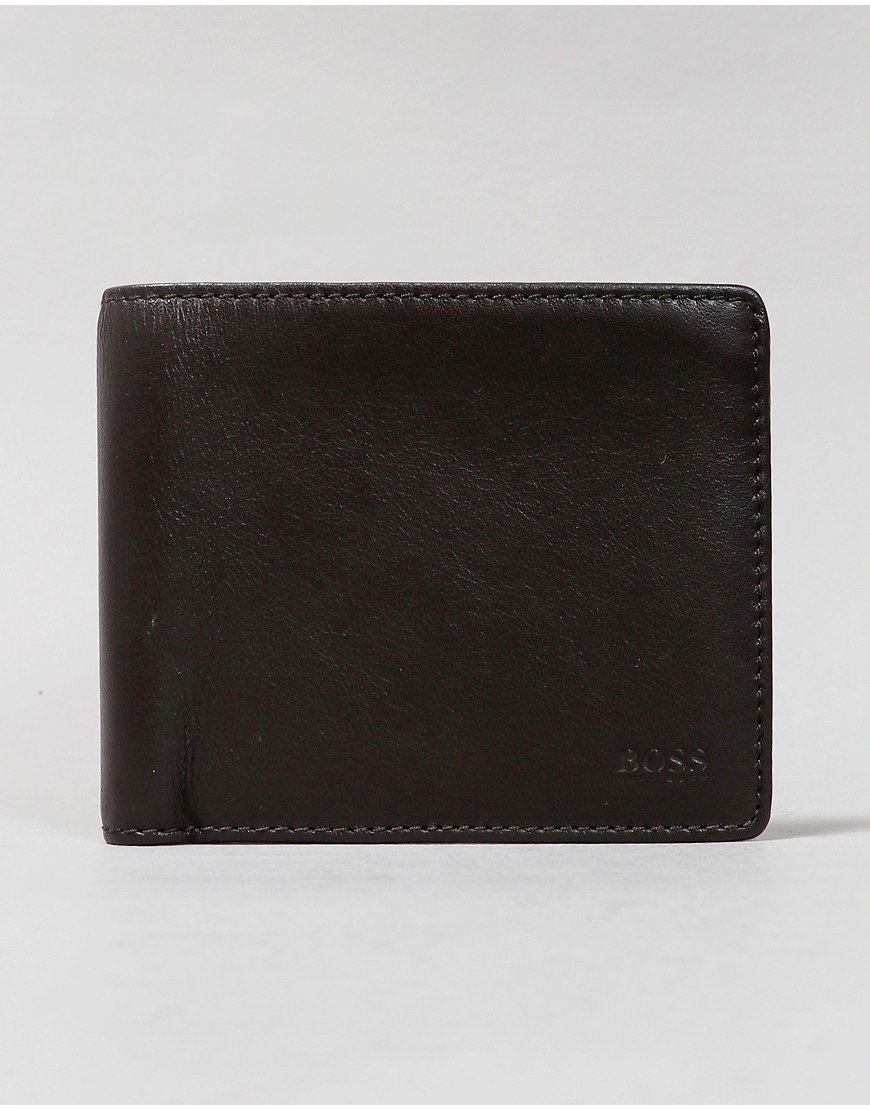 BOSS Majestic Billfold Wallet Brown