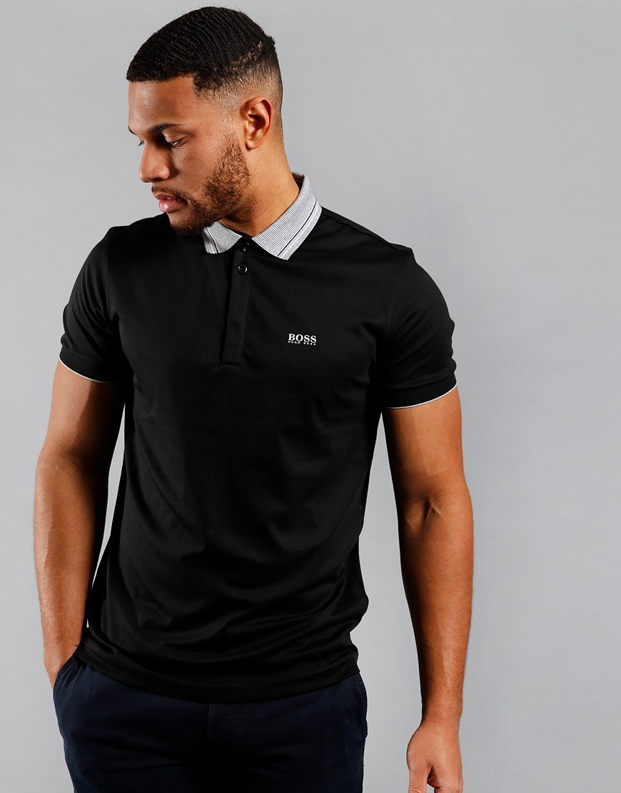 BOSS Paddy 1 Polo Shirt Black