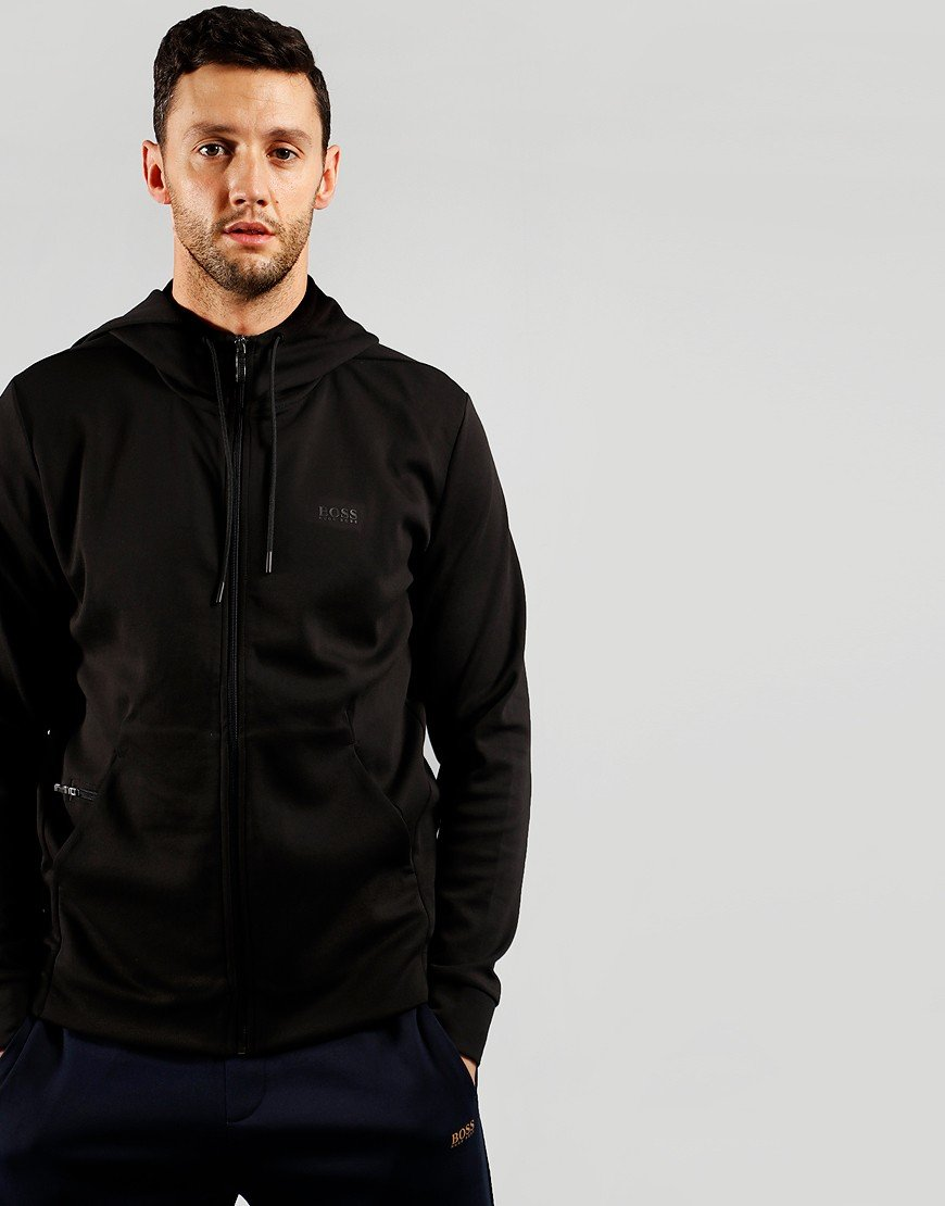 BOSS Athleisure Saggy X Hooded Zip Sweat Black