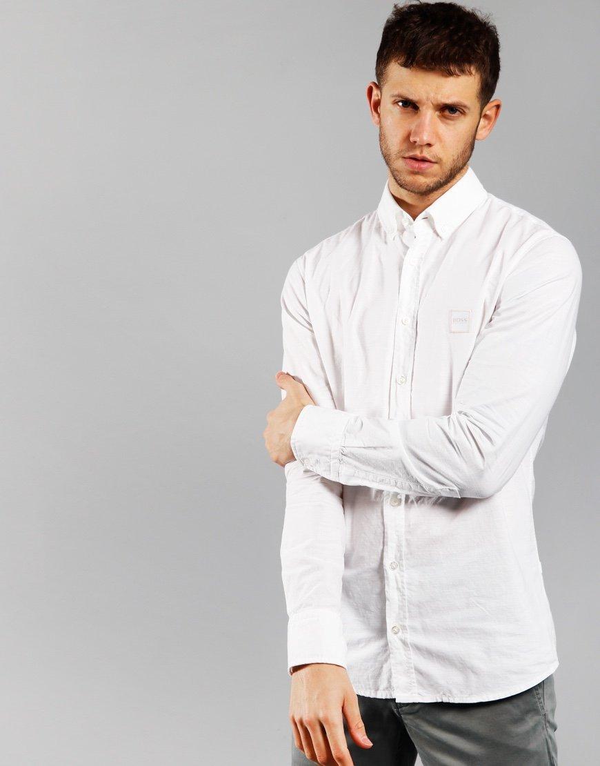 BOSS Mabsoot Shirt White