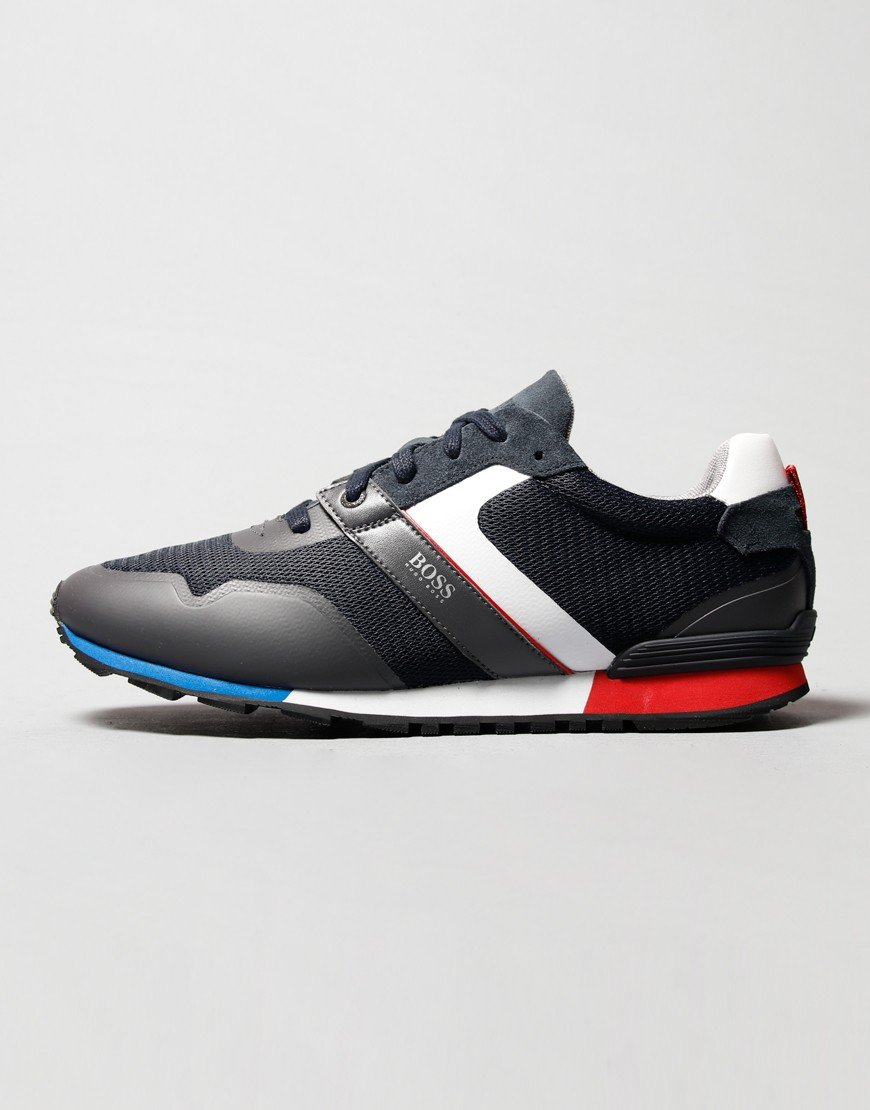 BOSS Parkour Runner Trainers Dark Blue