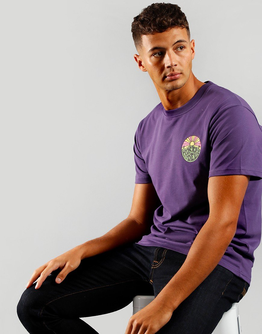 Hikerdelic OG Logo T-Shirt Purple