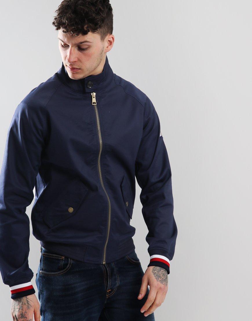 Tommy Hilfiger Icon Harrington Jacket Maritime Blue